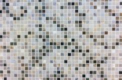 Ceramic tiles, mosaic made of natural stone royalty free stock photo