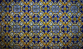 Ceramic tiles patterns from Azulejos Royalty Free Stock Photography