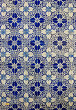Ceramic tiles patterns from Azulejos Stock Photo
