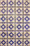Ceramic tiles patterns from Azulejos Royalty Free Stock Images