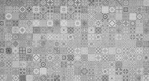 Ceramic tiles patterns. In the garden Vector Illustration