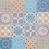 Ceramic tiles patterns Royalty Free Stock Photography