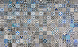 Ceramic tiles patterns Stock Photography