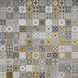 Ceramic tiles patterns from Portugal. Royalty Free Stock Images