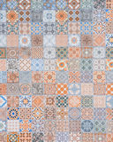 Ceramic tiles patterns from Portugal Stock Image