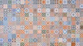Ceramic tiles patterns from Portugal Stock Photos
