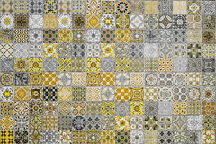 Ceramic tiles patterns from Thailand Royalty Free Stock Photography