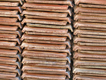 Ceramic tiles piles. Stock Image