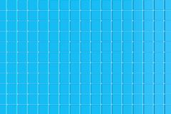 Ceramic tiles for the pool. 3d rendering. Ceramic tiles for the pool. Blue background. 3d rendering stock illustration