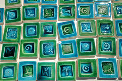 Ceramic Tiles for Sale Royalty Free Stock Photos