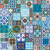 Ceramic Tiles Set. Royalty Free Stock Photography