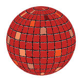 Ceramic tiles sphere Royalty Free Stock Image
