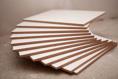 Ceramic tiles in the stack Stock Photo
