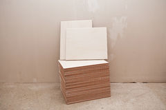 Ceramic tiles in the stack Stock Photos