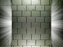 Ceramic tiles texture 3d presentation Stock Photography