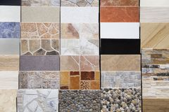 Ceramic tiles royalty free stock image