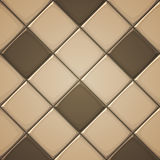 Ceramic Tiles. Vector illustration of vertical square brown ceramic tiles Royalty Free Stock Photo