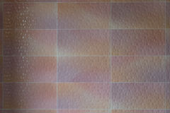 Ceramic tiles wall decoration. For background Royalty Free Stock Photos