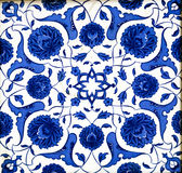 Ceramic Turkish Tiles Royalty Free Stock Photos