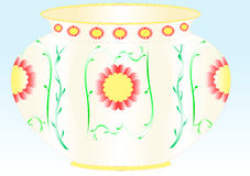Ceramic vase Stock Photo