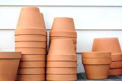 Ceramic vases Royalty Free Stock Photography