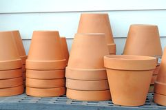 Ceramic vases Royalty Free Stock Image