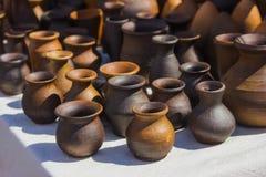 Ceramic vessels royalty free stock image