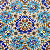 Ceramic wall. Portion of ceramic wall tiling Stock Images