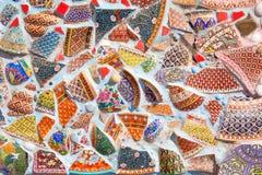Ceramic wall Stock Photo