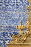 Ceramic wall tiles in Seville, Spain Stock Image