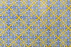 Ceramic wall tiles in Valencia, Spain Stock Photography