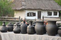 Ceramic ware handmade Stock Images