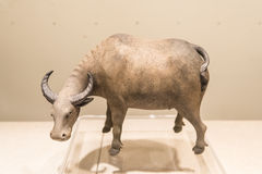 Ceramic water buffalo Royalty Free Stock Photos