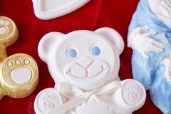 Ceramic white bear Royalty Free Stock Image