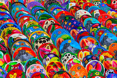 Ceramica messicana Immagini Stock