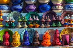 Ceramica tradizionale marocchina Immagini Stock Libere da Diritti