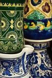 Ceramica tradizionale rumena 13 Fotografie Stock Libere da Diritti