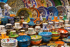 Ceramica turca Fotografia Stock