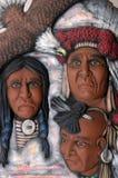 Ceramics. Native American ceramics painted by me (close-up Royalty Free Stock Photos