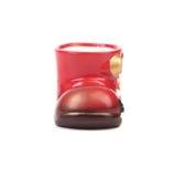 Ceramics boot for gift. Stock Photo