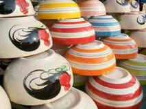 Ceramics bowl Stock Photos