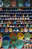 Ceramics in Chefchaouen Royalty Free Stock Photos