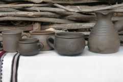 Ceramics handcrafts. Royalty Free Stock Photo
