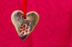 Ceramics heart Stock Photo
