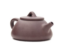 Ceramics kettle Stock Photography