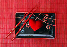 Ceramics kitchen utensils and heart