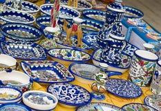 Ceramics pattern Stock Image
