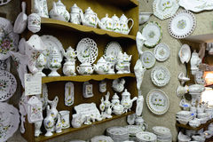 Ceramics shop Stock Photography