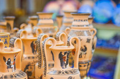 Ceramics souvenir shop Royalty Free Stock Photo