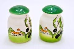 Ceramics spice Stock Photo